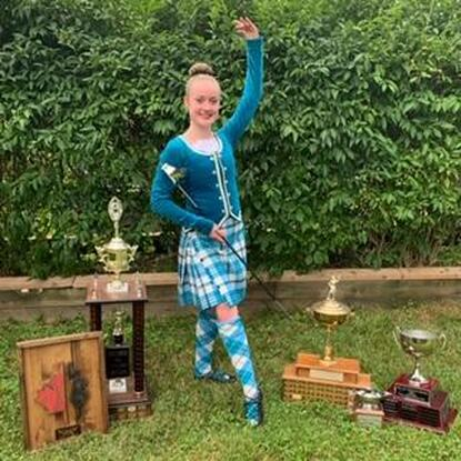 Fiona Tolley, Eleanor Belton, Burlington Ontario Dance School, Canadian Champion of Highland Dance 2020
